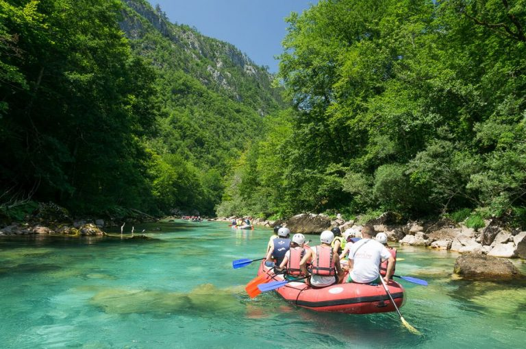 Rafting in the city of Zabljak