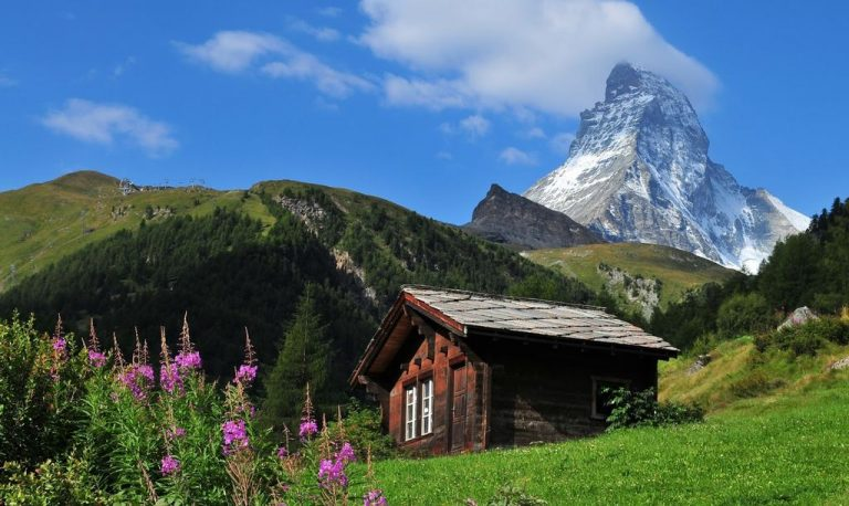 Zermatt in the summer