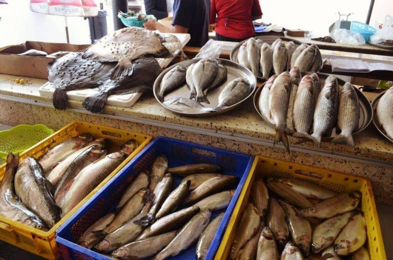 Batumi fish market