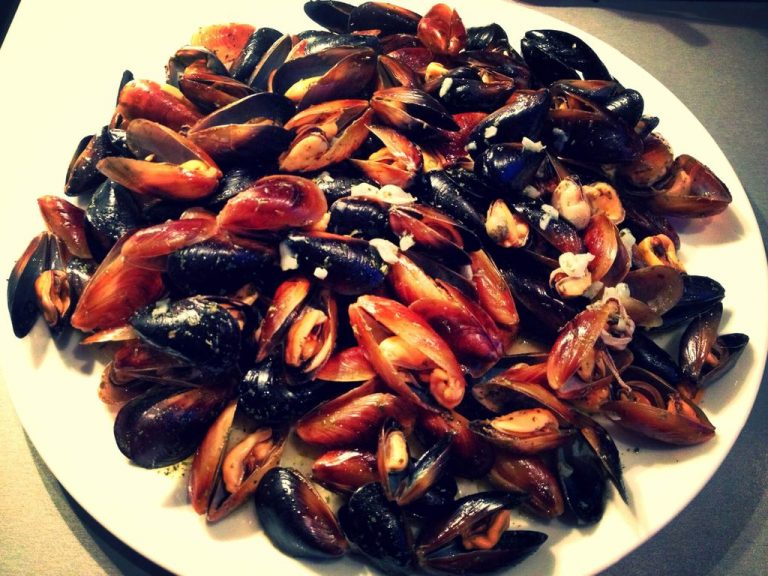 Mussels for beer
