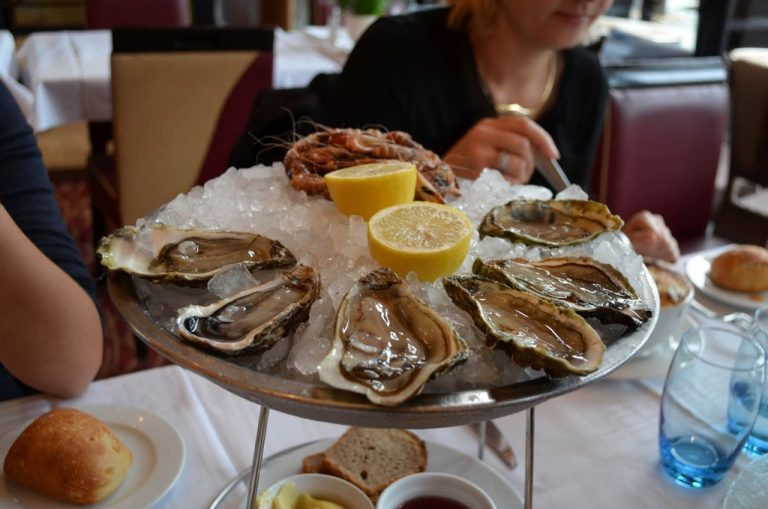 Oysters are another national product.