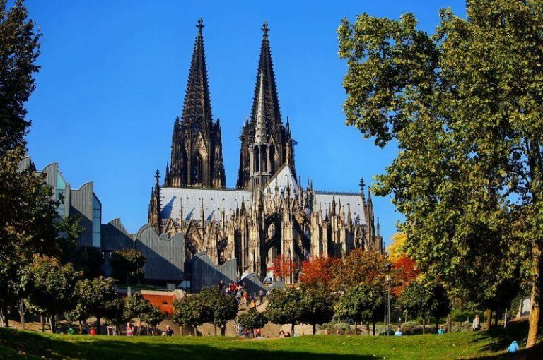 Cologne Cathedral in summer