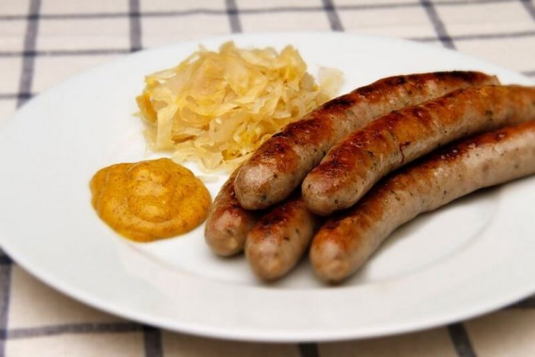 Sausages Bratwurst