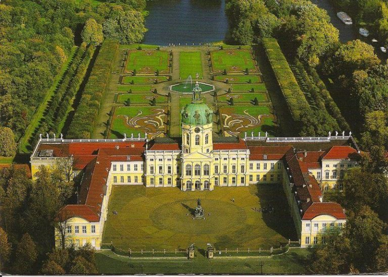 Charlottenburg Palace from Above