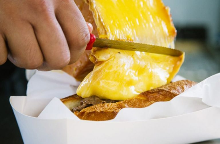 Cheese raclette - a national Swiss dish