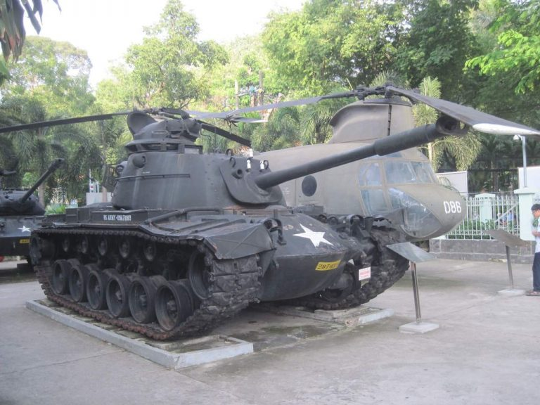 At the Museum of the Victims of War in Ho Chi Minh City