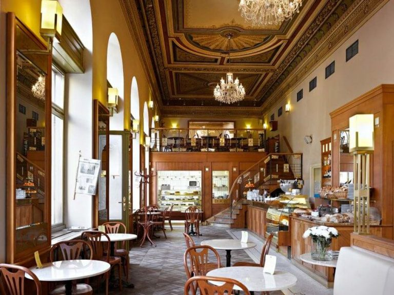 Cafe in Prague