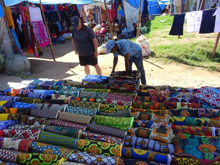 Fabrics made in Tanzania