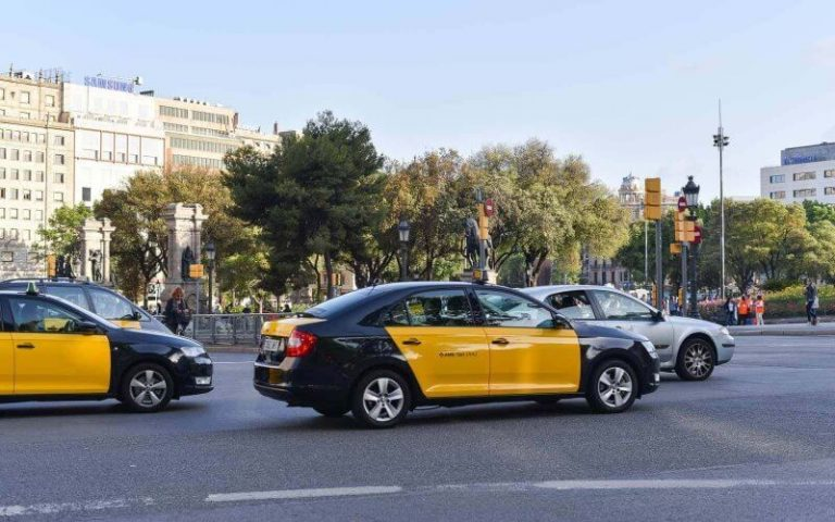 Taxi in Barcelona
