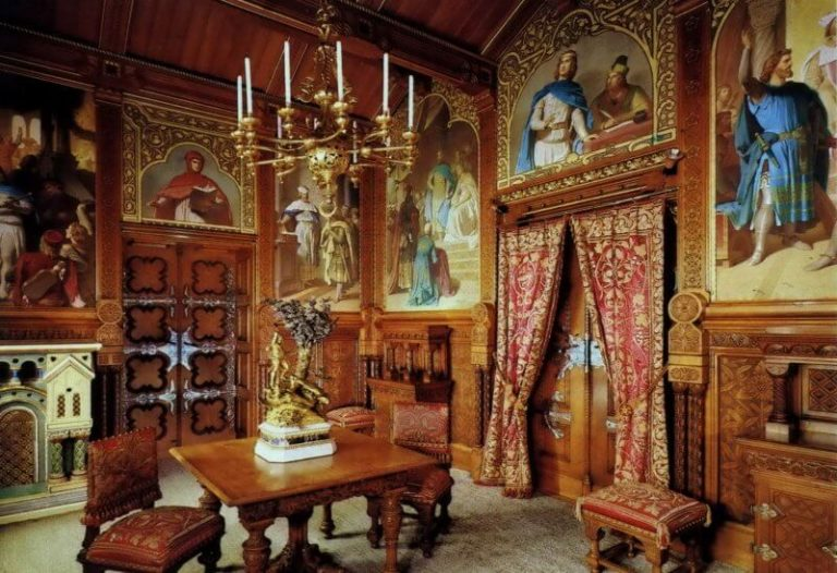 Chambers in Neuschwanstein Castle