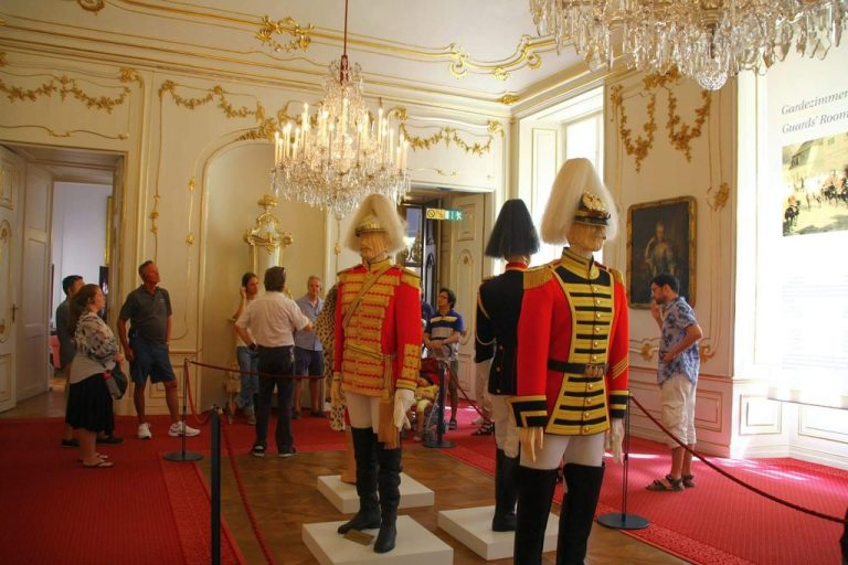 In the hall of the guards
