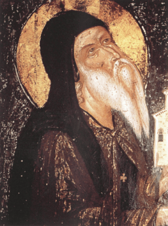 The founder of the monastery Theophan Apsaras