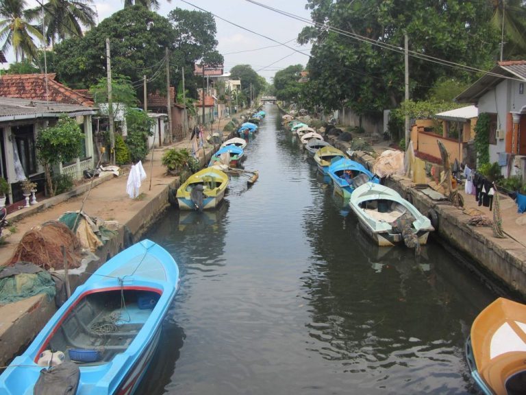 Canal in Negombo