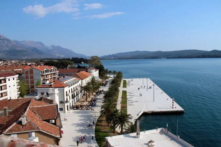 Island in Tivat