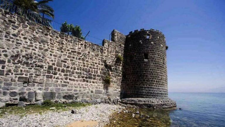 Fortress in Tiberias