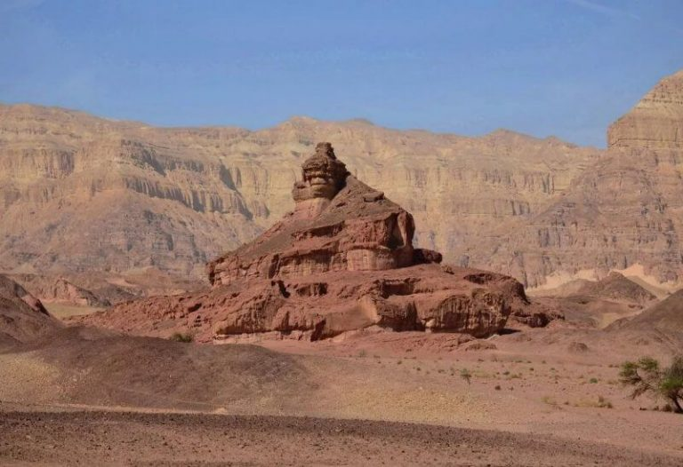 Spiral Hill in Timna National Park