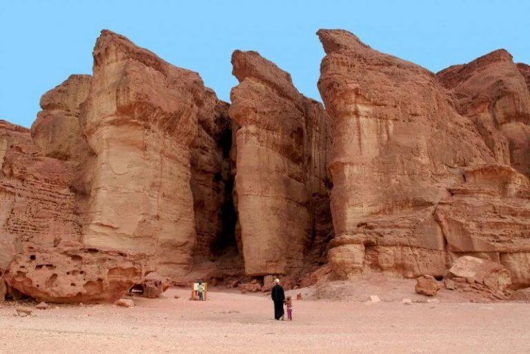 Solomon Pillars in Timna National Park