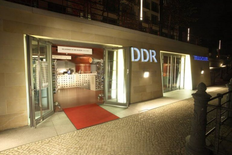 Entrance to the GDR Museum