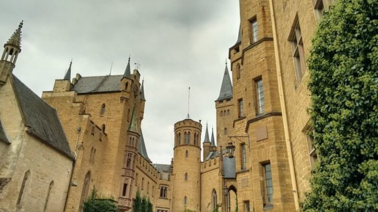 Entrance to the Hohenzollern Castle