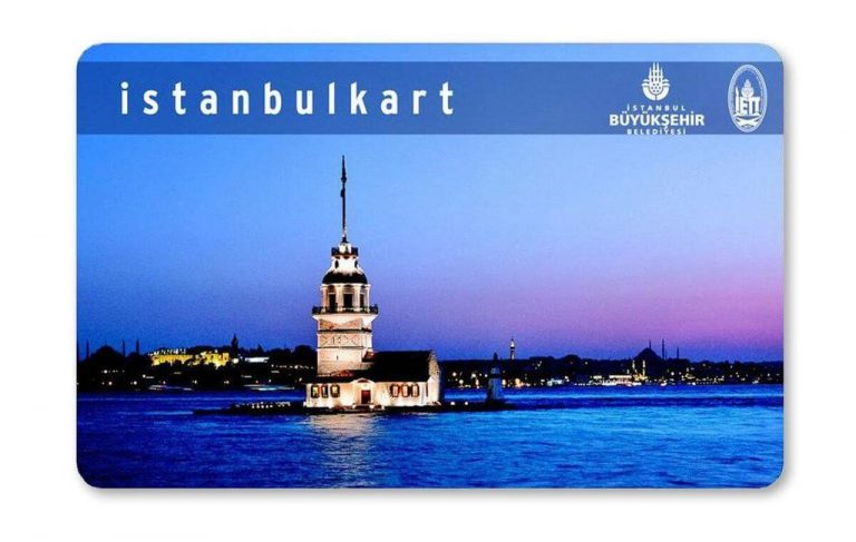 Electronic card Istanbulkart