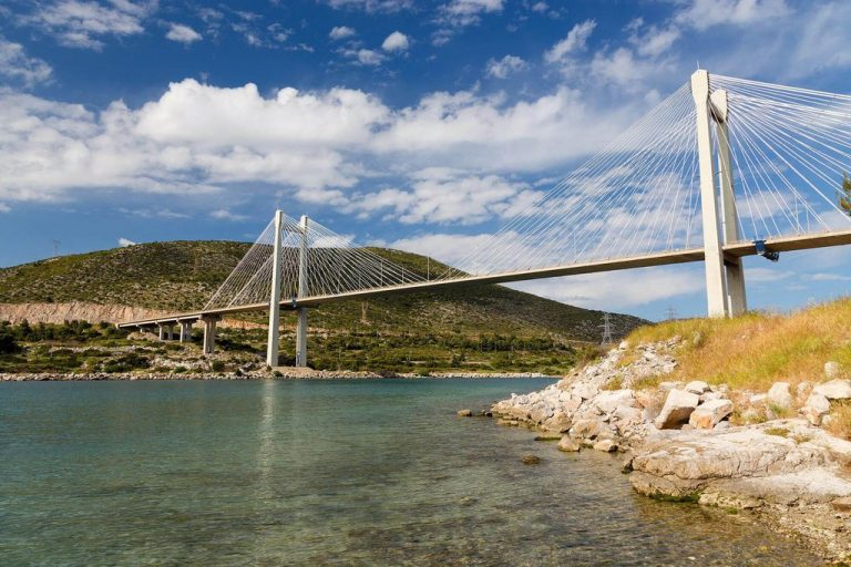 Suspension Bridge in Chalkida