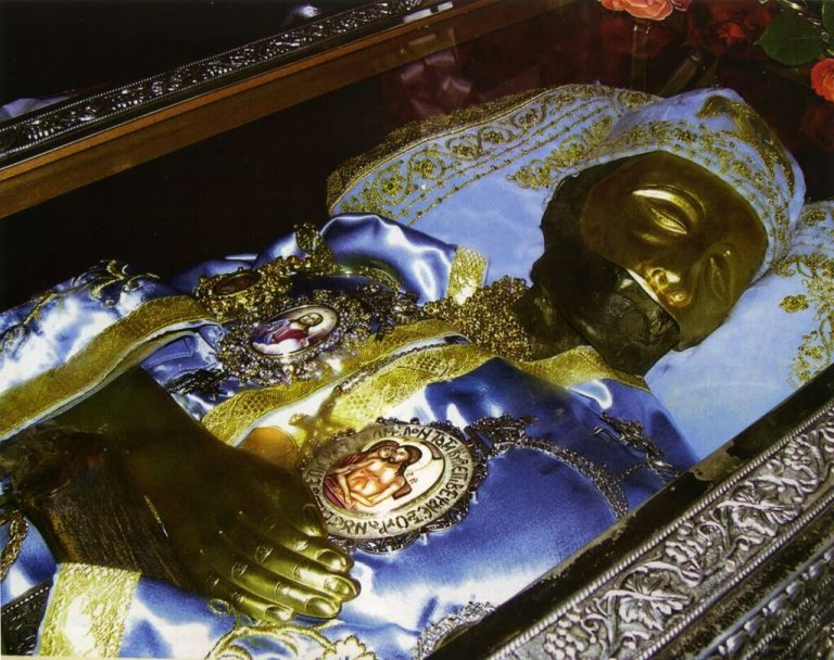 The relics of John of Russia
