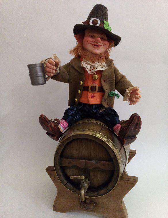 Leprechaun figurine