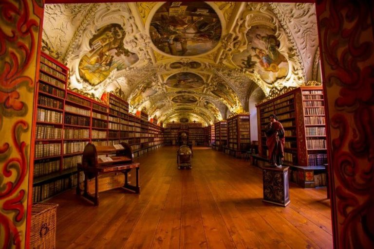 Hall in the Clementinum library, Prague
