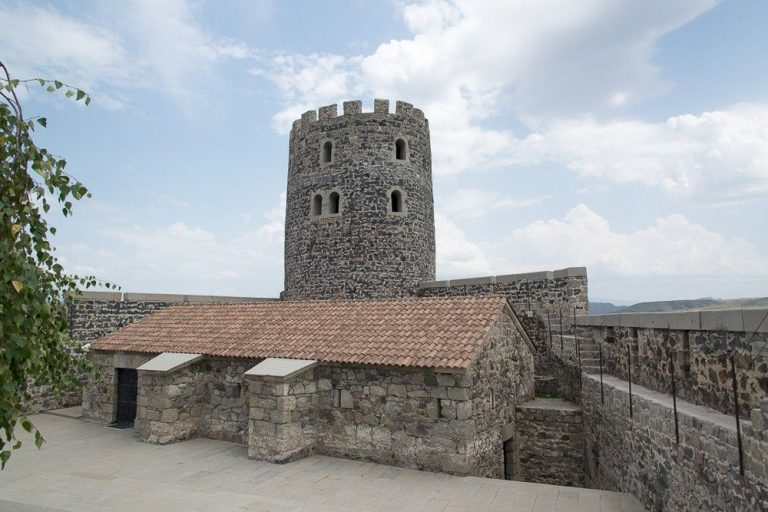 Photo: one of the observation towers