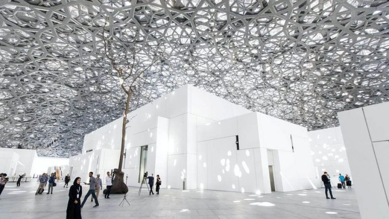 In the Louvre Abu Dhabi