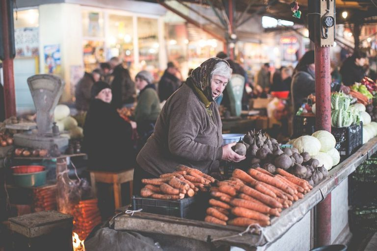 The local market is what you need to see in Kutaisi