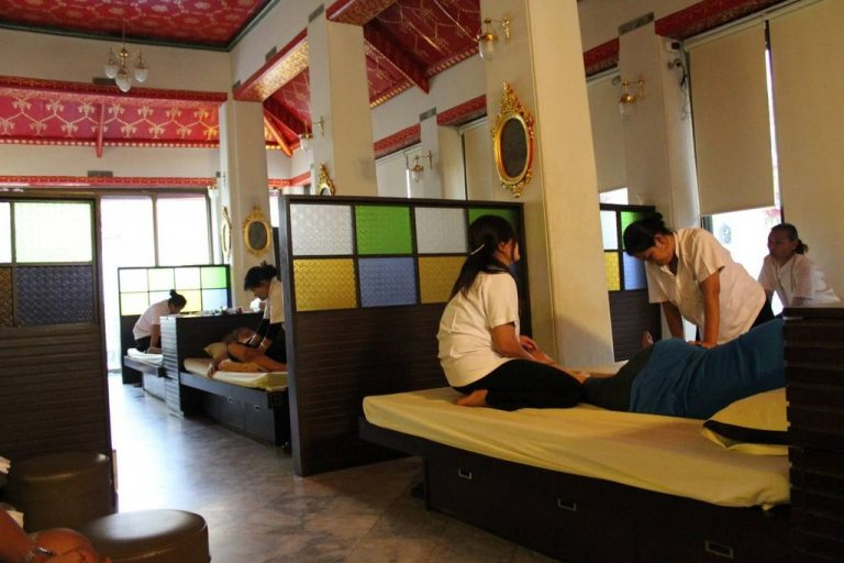 You can do Thai massage