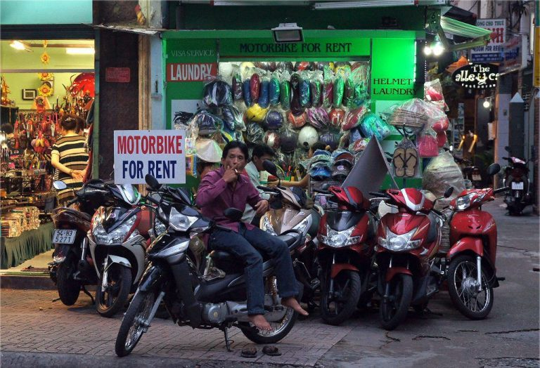 Motorcycle rental in Ho Chi Minh city