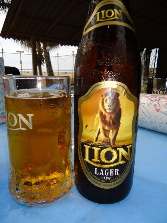 Local Lion beer