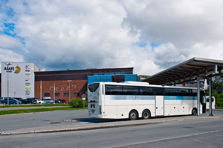 Photo: Narvik bus station