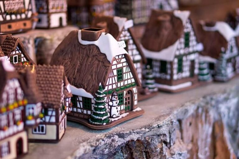 Souvenir houses in Germany