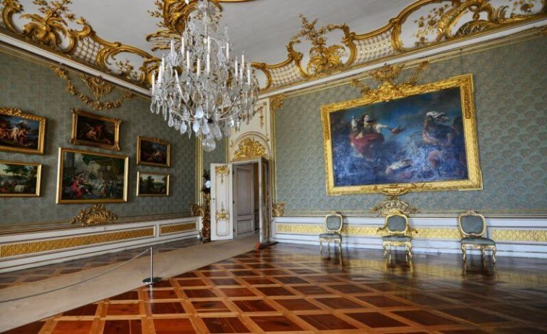 Hall at Sanssouci Palace