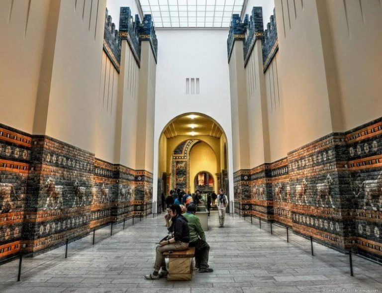 Hall at the Pergamon Museum