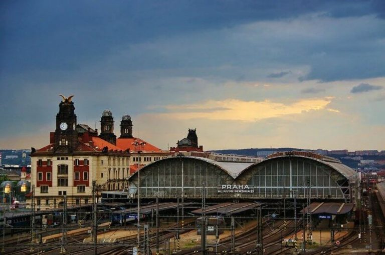 Railway in Prague