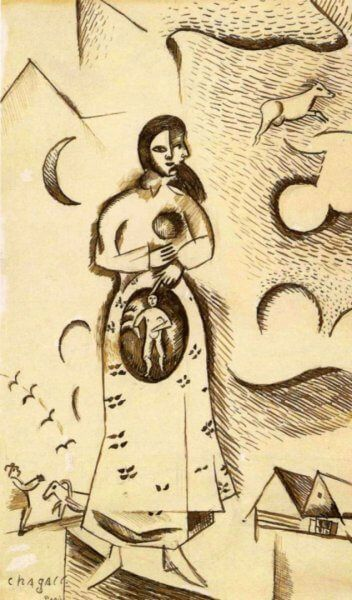 Graphics by Marc Chagall
