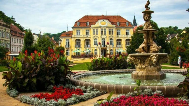 Teplice in the Czech Republic