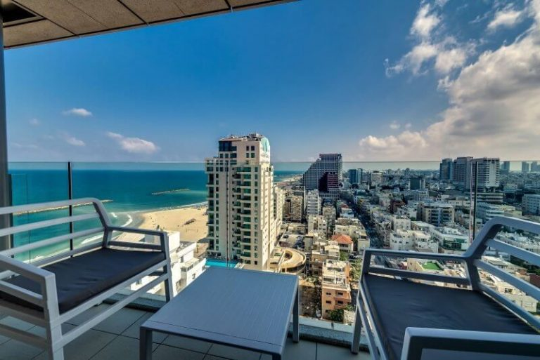 View from Royal Beach Hotel Tel Aviv by Isrotel Exclusive Collection