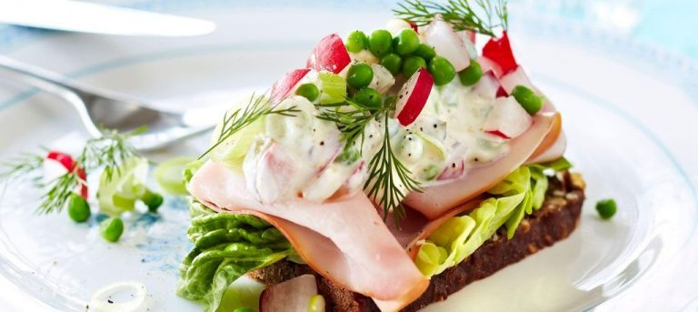 Danish national dish - Smørrebrod