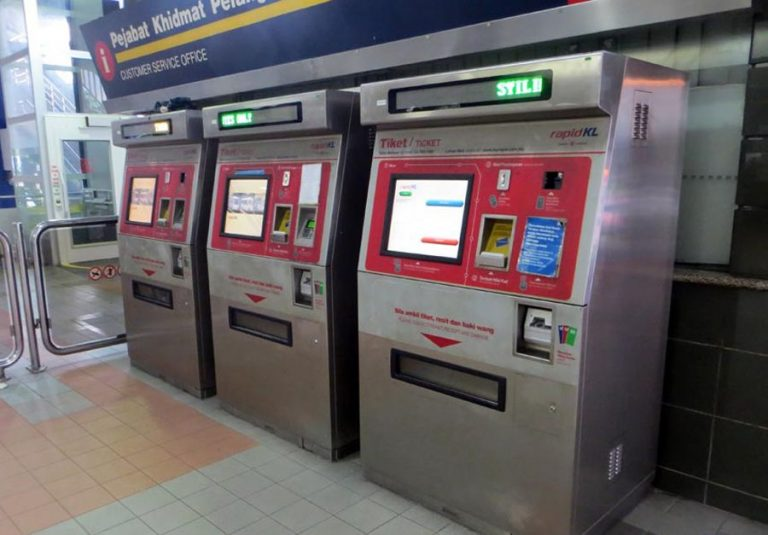 Special touch machines for buying tokens