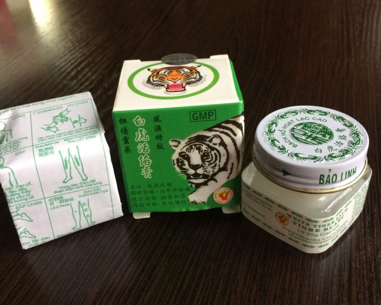 "Ointment ""White Tiger"""