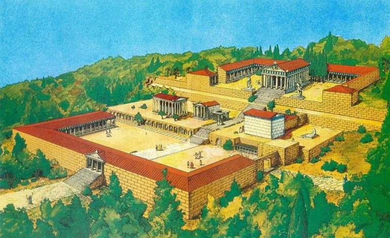 So Asklepion looked in antiquity