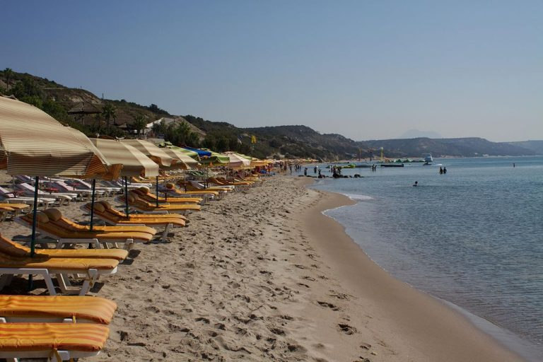 Beach on Kos
