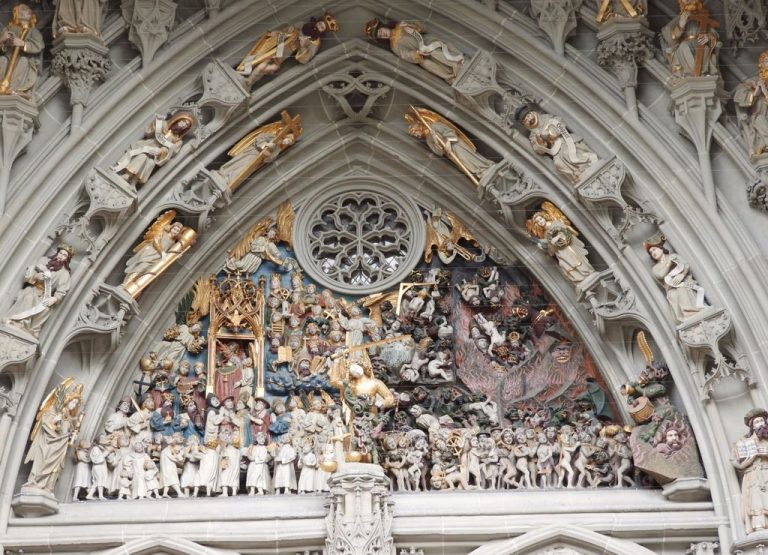 Last Judgment in Bas-Reliefs