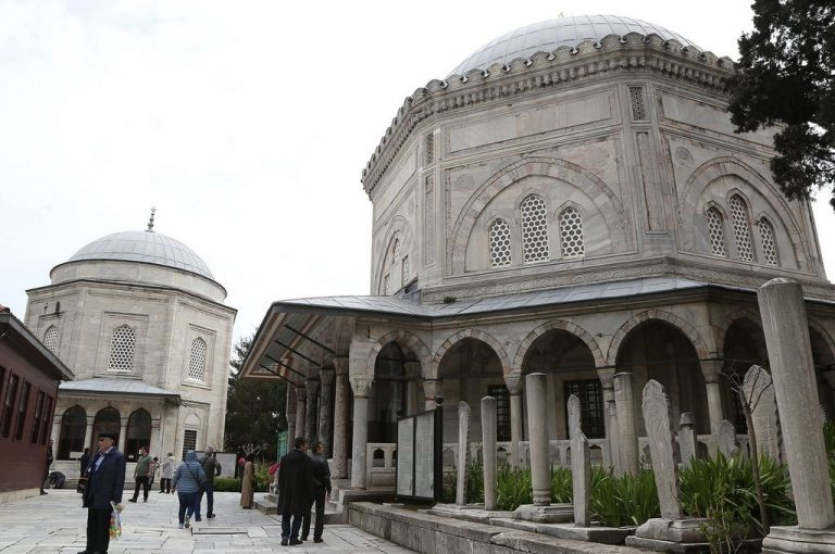 The tomb of Suleiman