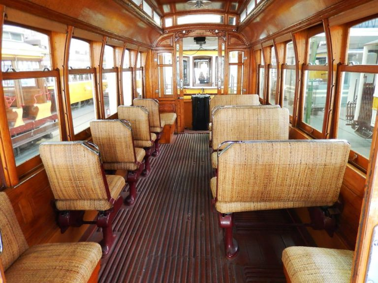 Salon of the old tram